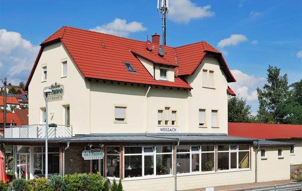 Bahnhof in Weissach